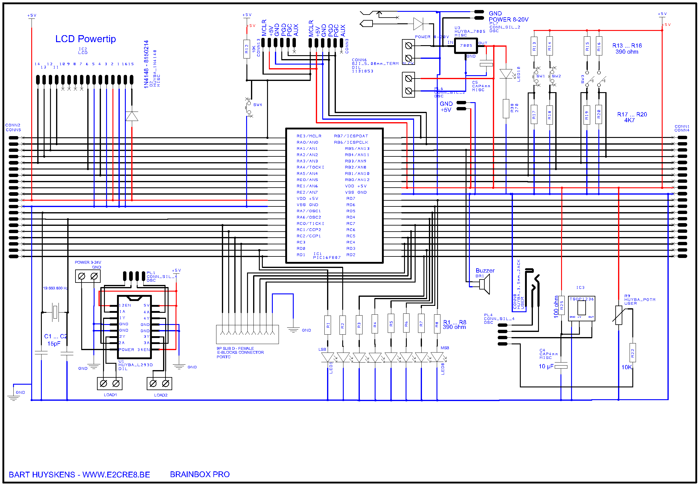 BRAINBOX_PRO - Schematic
